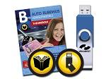 Auto theorieboek + USB-stick met 8 oefenexamens