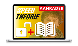 High-speed CBR theorie Bromfiets en theorieboek