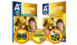 High-speed CBR theorie Bromfiets en theorieboek XXL